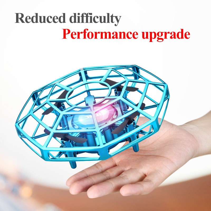 Mini Drone UFO Toys Infrared Sensing Control Hand Flying Aircraft Quadcopter Infraed RC Helicopter  Kid Toy enlarge