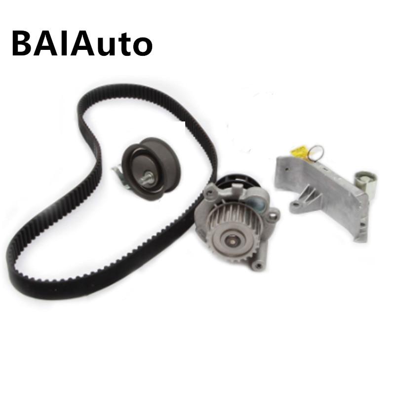 Kit tensor de correa dentada de bomba de agua de motor OEM para Audi A4 A6 TT VW Golf Bora Skoda asiento 1,8 T 06B109477 06A121012 06B109243F
