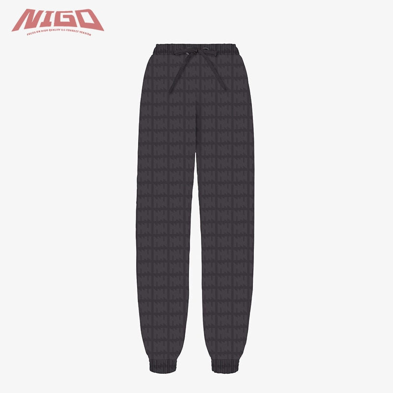 NIGO F 21ss Sports Casual Trousers Code@F17