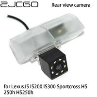 zjcgo car rear view reverse backup parking reversing camera for lexus is is200 is300 sportcross hs 250h hs250h