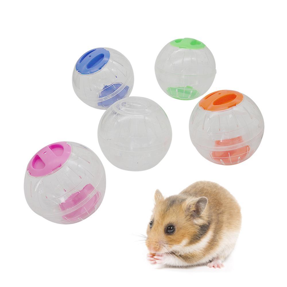 Kunststoff Klar Atmungs Hamster Laufen Kugel Kleine Pet Nagetier Mäuse Jogging Ball Gerbil Ratte Training Übung Bälle Spielen Spielzeug 1pc