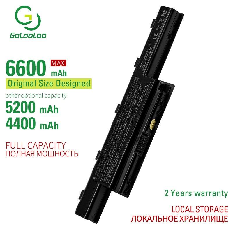 6600MAh Battery For Acer Aspire AS10D31 AS10D81 V3-571G v3-771g AS10D51 AS10D61 AS10D71 AS10D75 5741 5742 5750 5551G 5560G 5750G