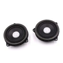 4.5 Polegada carro alto-falante midrange para bmw 1 2 3 4x1x3x4 série porta de alta qualidade mid range altifalante áudio som música estéreo