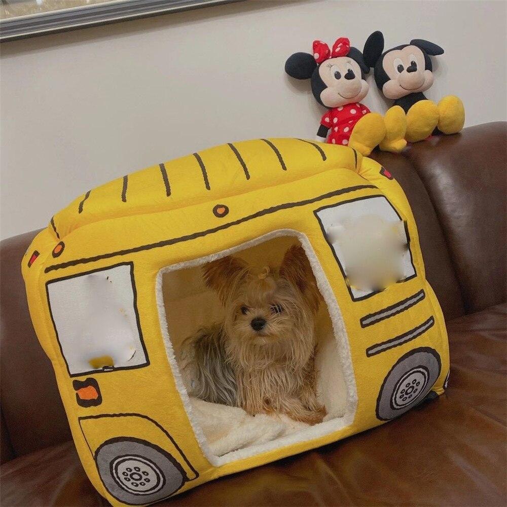 2 In1 بيت كلب طوي القط للكلاب الصغيرة السرير شتاء دافئ جرو منصات أريكة للإزالة قابل للغسل النوم بيت عش المنتجات