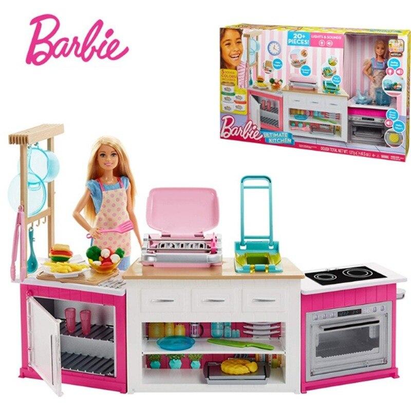 Mattel-juguetes de cocina de ensueño para niñas, juguetes para juego de imitación,...
