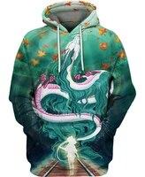 beautiful the underwater dragon mens hoodie unisex sweatshirt for menwomen springautumn casual pullover zipper streetwear