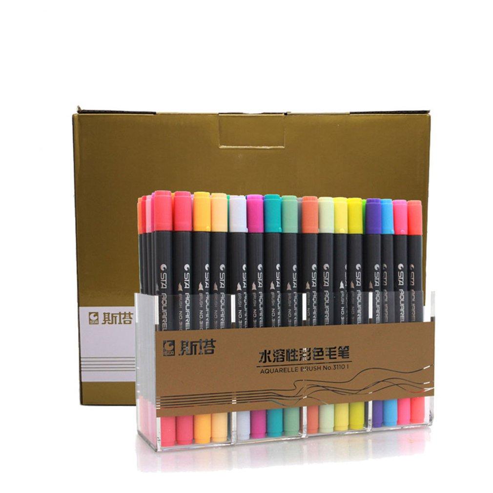 1-pz-pennarello-a-base-d'acqua-testa-morbida-doppia-testa-penna-per-pittura-ad-acquerello-penna-a-colori-set-dipinto-a-mano-pennello-da-scrittura