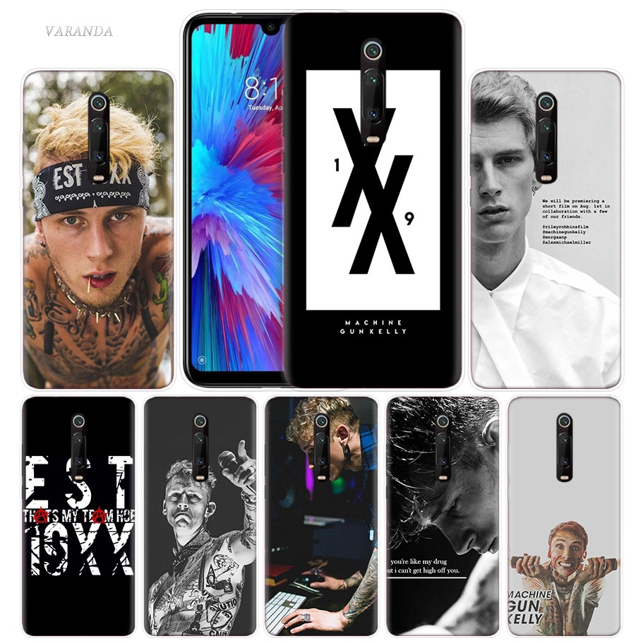 MGK Machine Gun Kelly Case for Xiaomi Redmi Note 8T 9S 8 7 K20 K30 Pro 7A MI 10 CC9 E 9T 9 A3 Lite F2 X2 TPU Phone Coque Cage