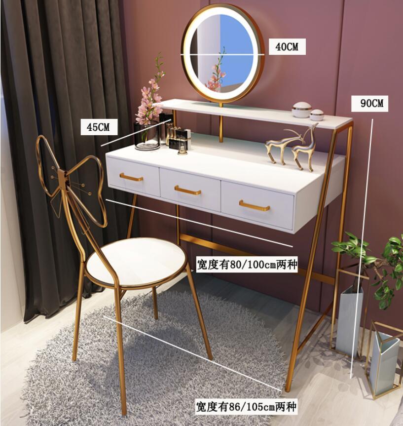 Nordic туалетный столик чистый красный ins ветер современный минималист небольшой освещение для квартиры класса люкс туалетный столик набор ту...