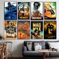 Mad Max Fury Road     affiches et imprimes du film classique  Art mural  peinture sur toile  decoration de la maison