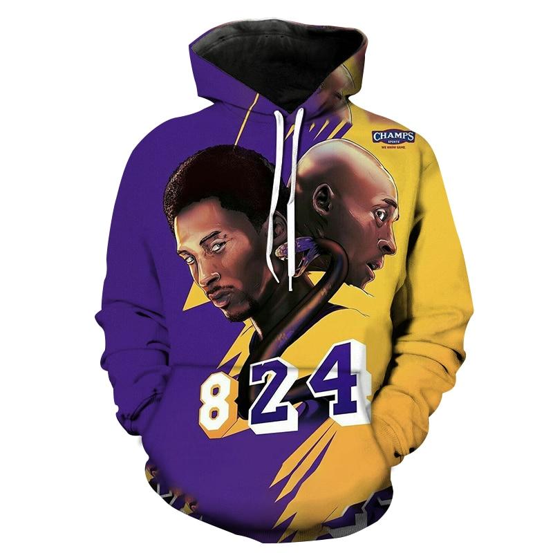 2021 High Quality Brand 3D Printed Basketball Star Hoodie Men Featured Harajuku Hoodies Popular male Long Sleeve Pullover Hoodie