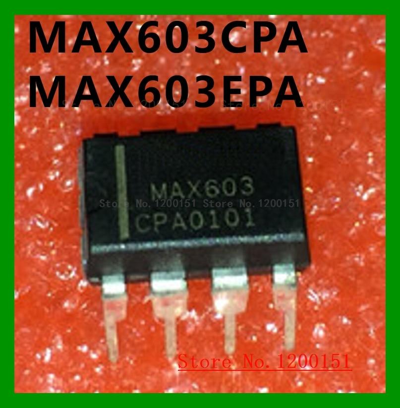 MAX603CPA MAX603EPA MAX603 MAX604CPA MAX604EPA MAX604 DIP8