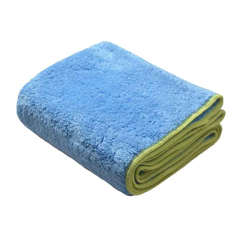 Toallas de Baño de mascotas de microfibra gruesa de felpa SINLAND toalla seca Ultra absorbente con bolsillos de mano para perros gatos 16 pulgadas x 40 pulgadas gris 1 paquete