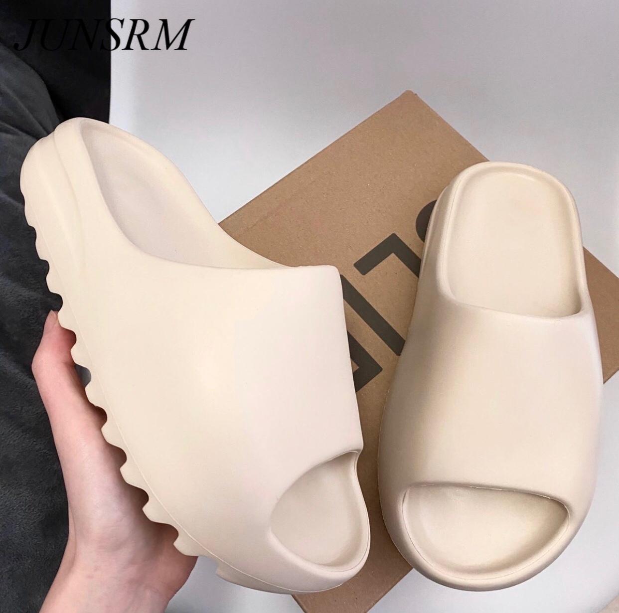 Summer Slippers Men Women Indoor Eva Cool Soft Bottom Sandals Trend Slides Light Beach Shoes Slippers Home big size 46
