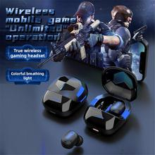 G6s TWS Earphones Stereo Wireless Bluetooth-Compatible Headphones Touch Control Noise Cancelling Gam