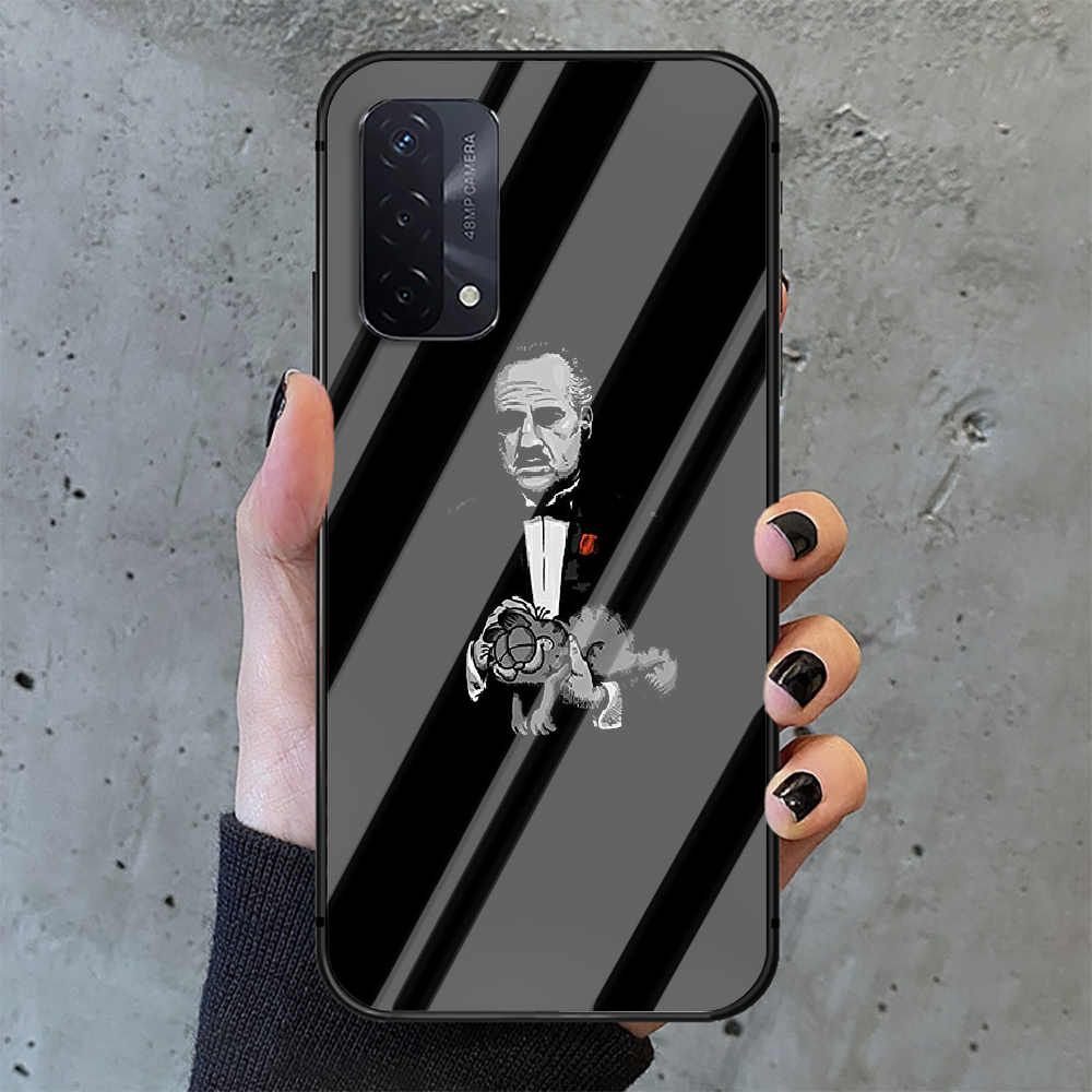 Classic Movie Godfather Phone Tempered Glass Case Cover For oppo realme find a x c xt gt 2 53 3 6 7 50 11 i Pro 4g 5g Prime  - buy with discount