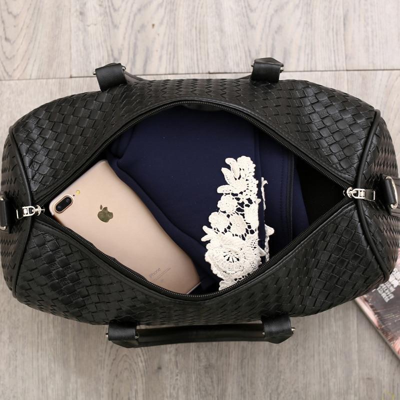 Large Capacity Travel Bag Travel Duffle Big Bag Women's Waterproof Leather Hand Luggage Bags Short Trip Men Sports Package