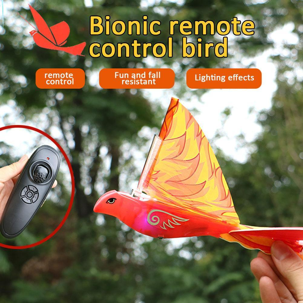 2.4G Remote Control Electronic Simulated Swallow Flying Bird Aircraft Children Kids Airplane Birds T