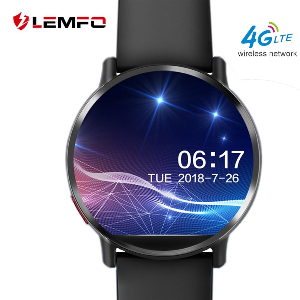 LEMFO LEM X ساعة ذكية 4G أندرويد 7.1 8MP كاميرا لتحديد المواقع 900Mah تبديل البطارية حزام 2.03 بوصة 640*590 شاشة أندرويد الرجال LEMX