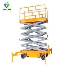 500kg 8m Semi Electric hydraulic scissor lift industrial platform lift