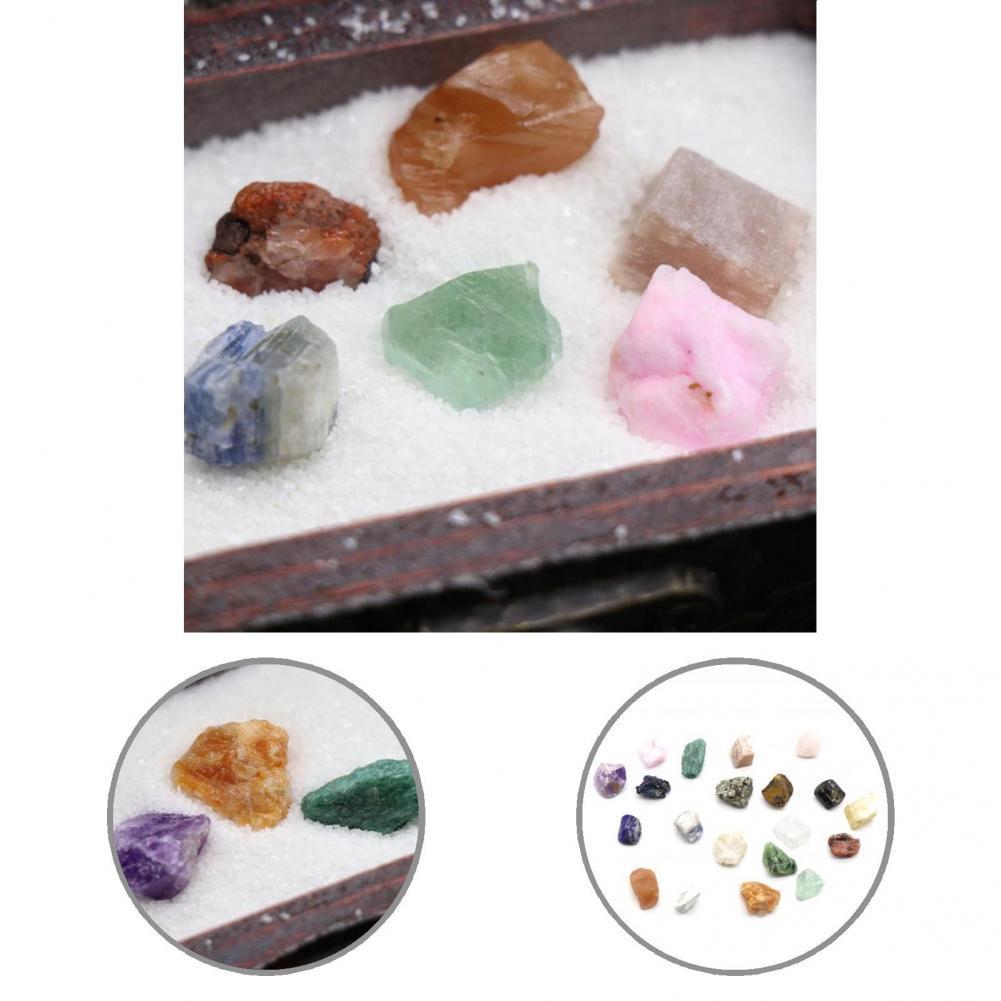 1 коробка, декоративный образец руды, минерала, искусственная энергия, коллекционный камень для учебы