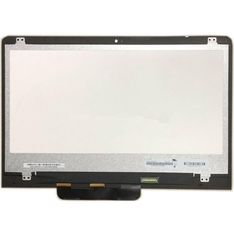 شاشة lcd تعمل باللمس مقاس 14 بوصة لجهاز ASUS VivoBook ، Flip 14 ، TP410UA ، TP410U ، TP410