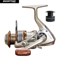double spool fishing coil wooden handshake 12 1bb fishing reel professional metal leftright hand fishing reel wheels