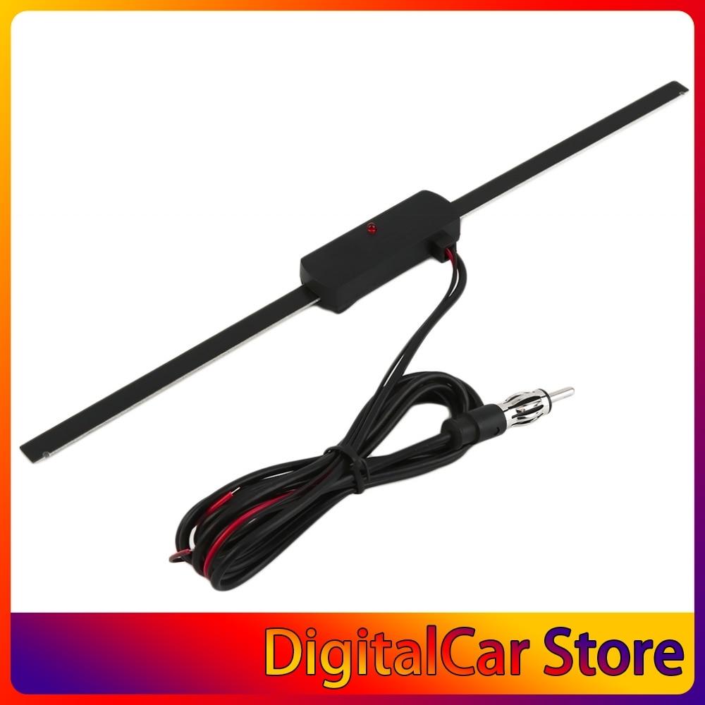 AM-FM electrónico Universal para parabrisas de coche, Radio no direccional, superventas, color...