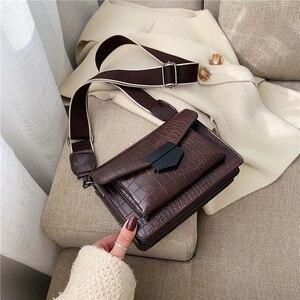 2020 handbag for women luxury women bags designer Wide shoulder strap small square bag with stone grain sac a main femme bolsa