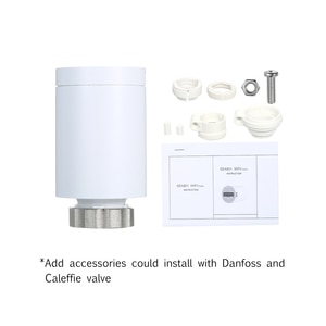 Thermostat Thermal Imager Temperature Controller Heating and Accurate TRV Thermostatic Radiator Valve Programmable Voice Remote