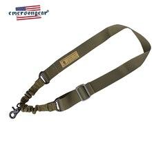 Emersongear Emerson réglable chasse tactique un seul Point pistolet fronde fusil fronde élastique sangle ceinture corde w métal crochet