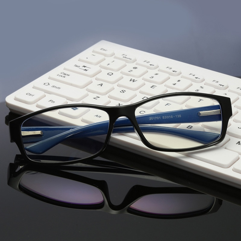 Los hombres y las mujeres de iones negativos gafas de protección contra luz azul ajustable anti fatiga ocular gafas de bloqueo de radiación de rayos juego de computadora gafas