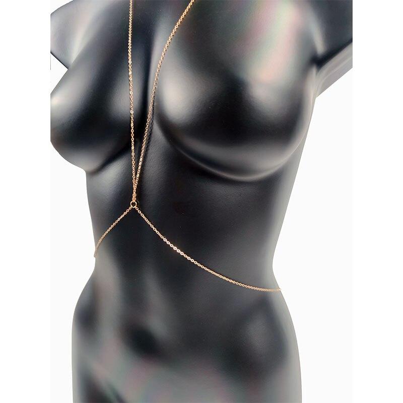Цепочка-на-грудь-женская-с-кристаллами-пикантное-Ювелирное-Украшение-для-купания-модный-пляжный-простой-роскошный-подарок-Вечерние