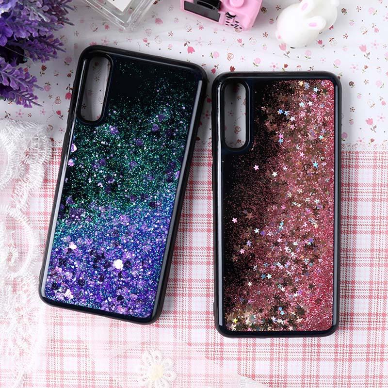 Блестящие жидкие Чехлы для Samsung Galaxy A10 A30 A40 A50 A70 силиконовый чехол для Samsung Note 8 9 10 S7 S8 S9 S10 S10e Lite чехол