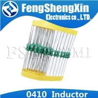 50pcslot 0410 color ring inductance 12w 0 5w inductor 1 6 8 10 15 22 47 68 100 150 220 330 470 680 uh 1 1 5 2 2 3 3 4 7 mh