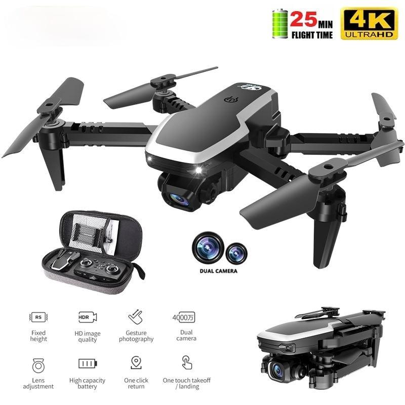 NSA S171 Pro Mini Drone With Dual Camera Wifi Fpv Drones Air Pressure Altitude Hold 4K 1080P Profenssional RC Quadcopter Dron
