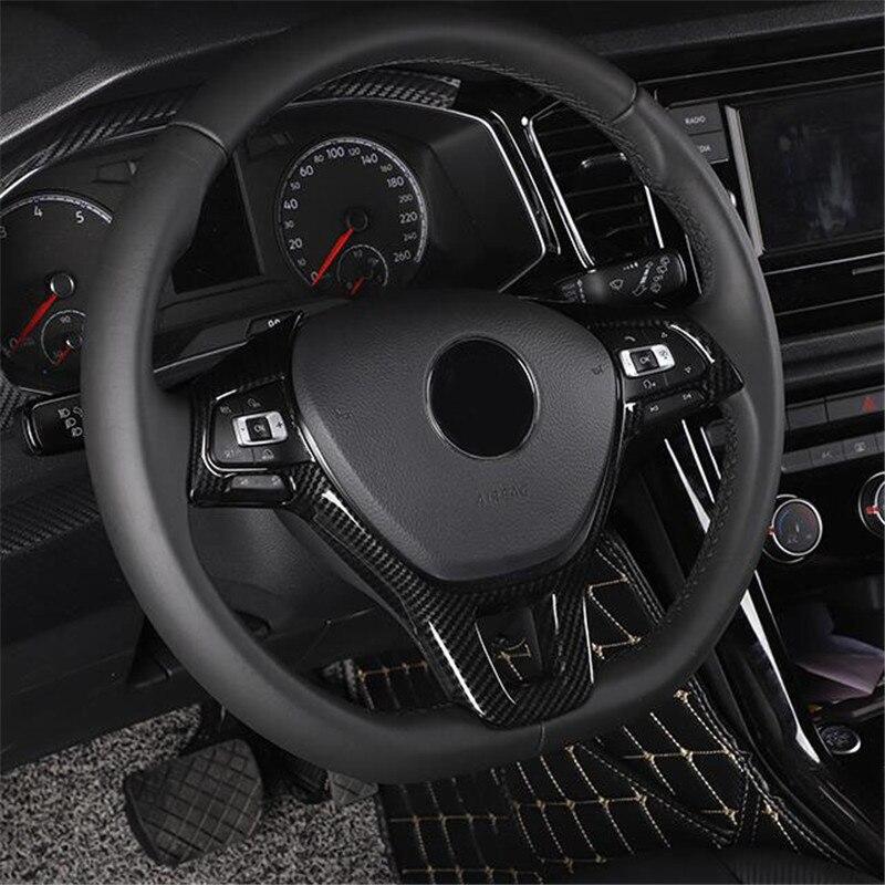 Car accessories Steering Wheel trim For Volkswagen Jetta Golf Sportsvan Golf 7 Polo Caddy Amarok Lavida Passat Tiguan Touran up!