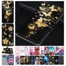 Милый кожаный чехол-раскладушка для телефона с отверстиями для huawei Nova 5 Pro P30 P20 Lite 2019 P20 плюс 2018 P10 Lite P9 Lite 2016 P8 Lite 2015 2017 P7 D08F