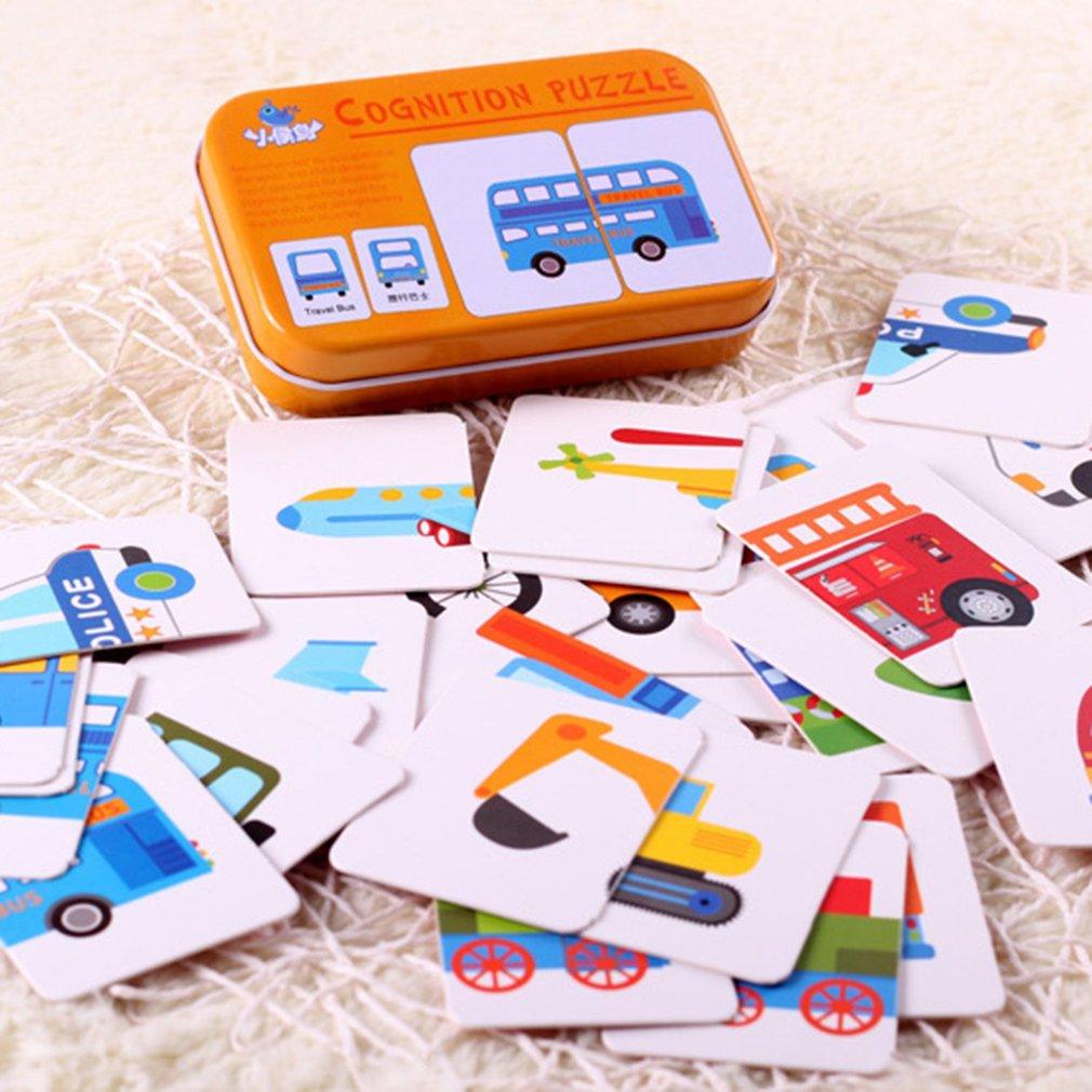 Tarjetas cognitivas para niños, materiales Montessori divertidos en inglés, tarjetas Flash de bolsillo con palabras, juguetes educativos para edades tempranas, tarjetas de entrenamiento para bebés