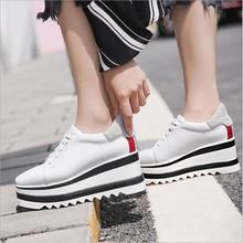 Timalina Women Casual Shoes Fashion Breathable Walking Mesh Lace Up Platform Vulcanized Shoes Sneake
