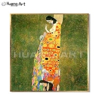 high quality famous painting hand painted elegant women oil painting on canvas for room decor gustav klimt imitation painting