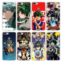 My Hero Academia Case For Huawei Honor 10 9 20 Lite 9X 8X 8A Pro 7A 7X Y5 Y6 Y7 Y9 2019 V20 V30 Soft Phone Cover Coque