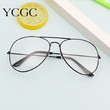 Fashion Sliver Black Gold Glasses Frame Women Retro Round Computer Blue Light Eyeglass Frame Reading