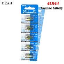 5pcs 6V 4LR44 Alkaline Batteries for Dog Training Shock Collars Beauty pen A544V 4034PX PX28A L1325 4AG13 544 4A76 Dry Batteries