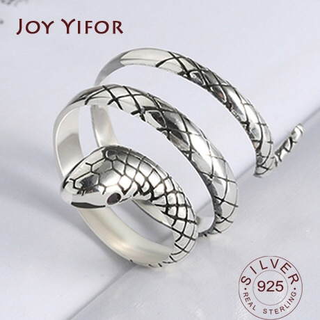 Женское-кольцо-из-серебра-100-пробы-с-змеей