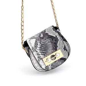 Women's Mini Shoulder Bag Snake Pattern Luxury Handbags Women Bags Designer Messenger Crossbody Bag Serpentine Handbag #YJ