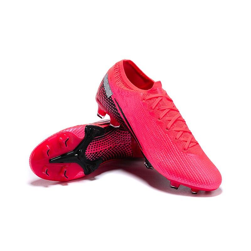 Zapatillas de fútbol NlKE mermermerlal VAP0R tsl. Elite FG, zapatos de fútbol al aire libre-Laser Crimson/Negro/Laser Crimson, envío gratis 2020