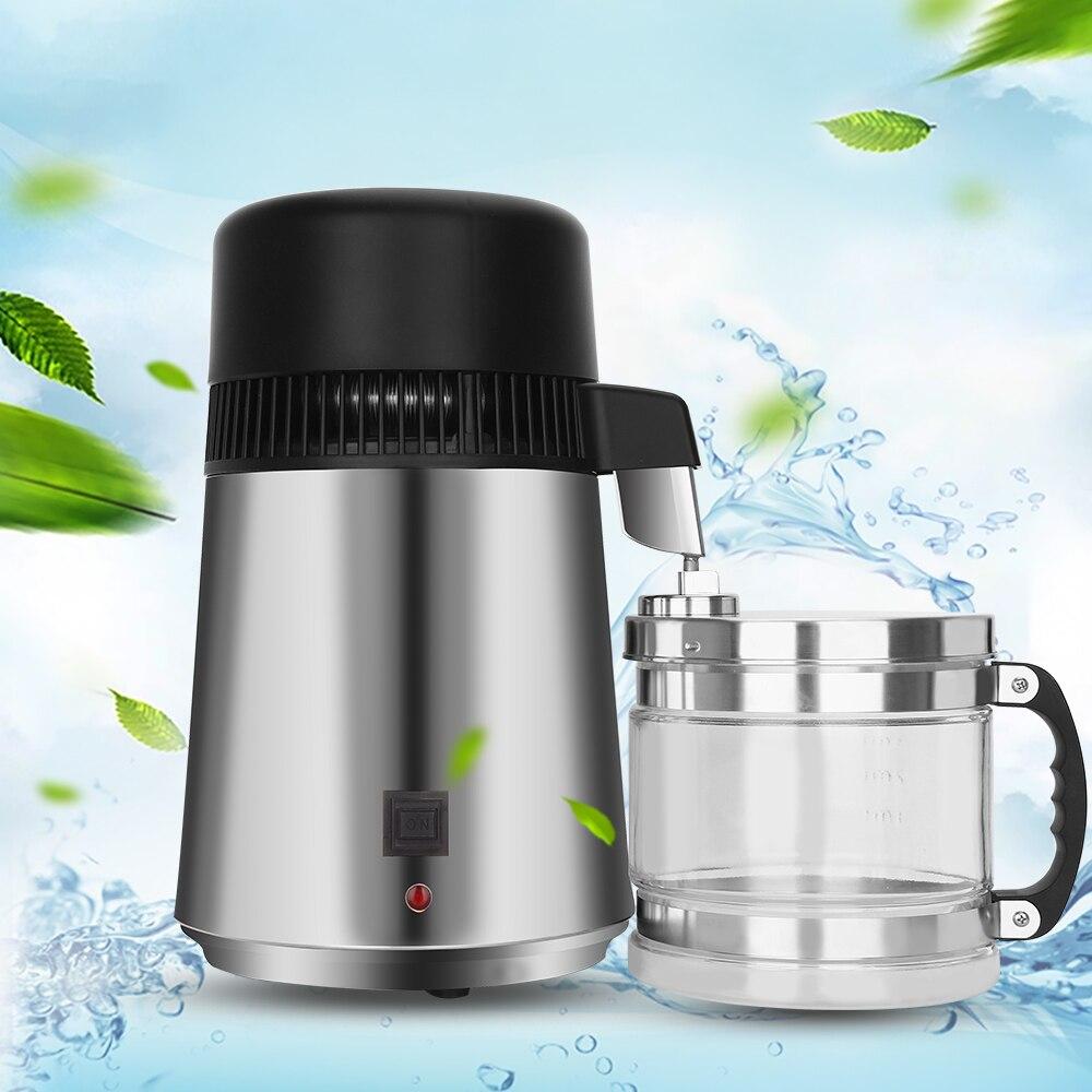 Дистиллированная машина для дистилляции 4L домашний фильтр для дистиллятора для чистой воды лучший домашний фильтр для дистиллятора для воды очиститель дистилляции e