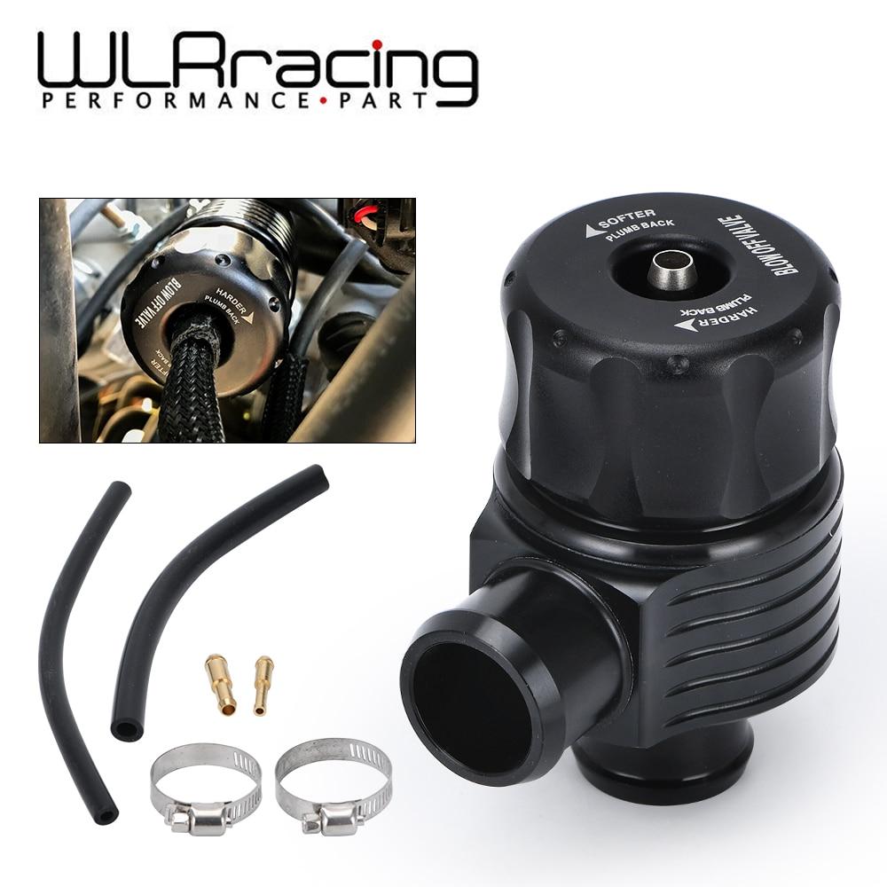 Wlr Racing Universal 1.8T Turbo Diverter Dump 25 Mm Blow Off Valve Aluminium Voor Audi A3 S3 A4 A6 a8 S4 Tt 1.8 20 V Turbo WLR5742BK