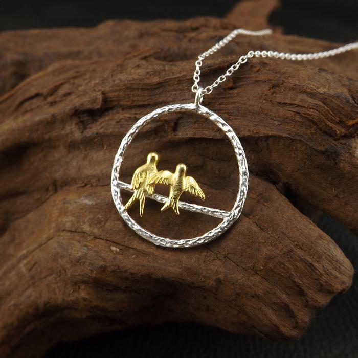 Ожерелья-и-кулоны-из-стерлингового-серебра-925-пробы-для-женщин-Модный-женский-праздничный-подарок-Стерлинговое-Серебро-ювелирные-изделия